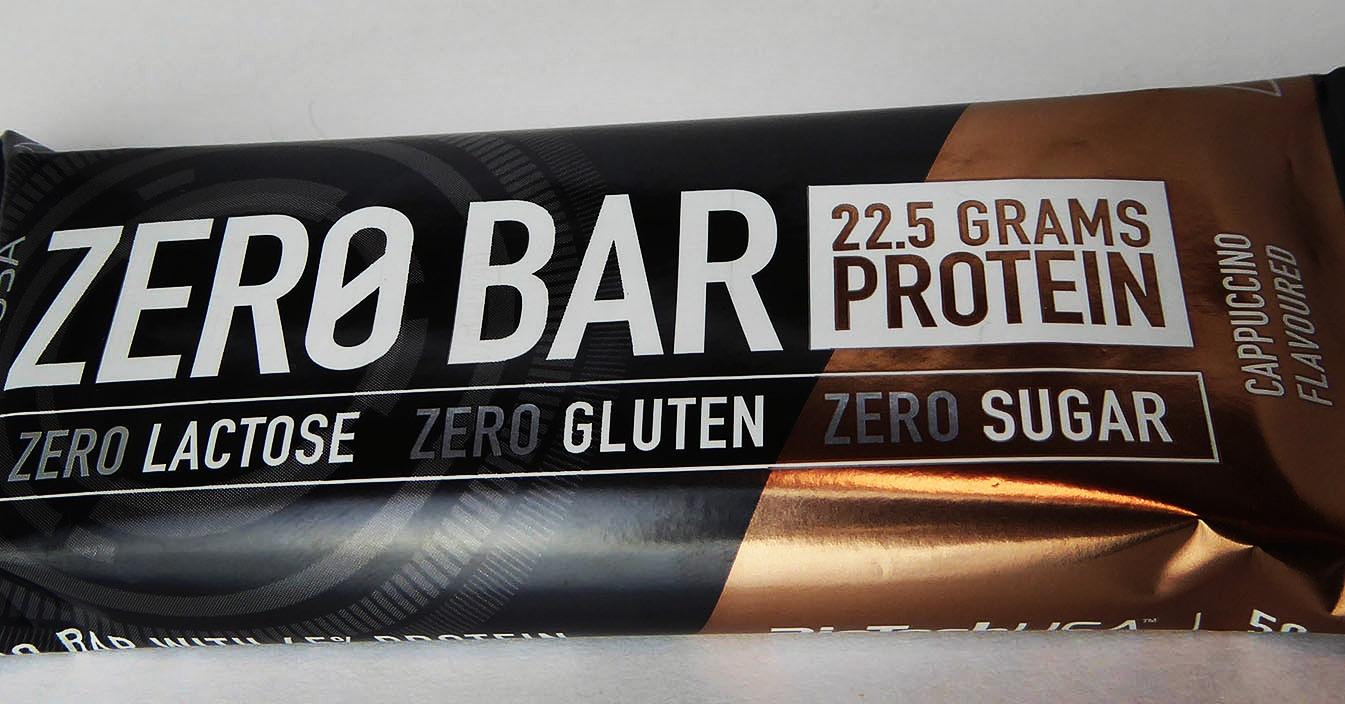 """BioTech USA Zero Bar Cappuccino Flavoured"" is locked  BioTech USA Zero Bar Cappuccino Flavoured"