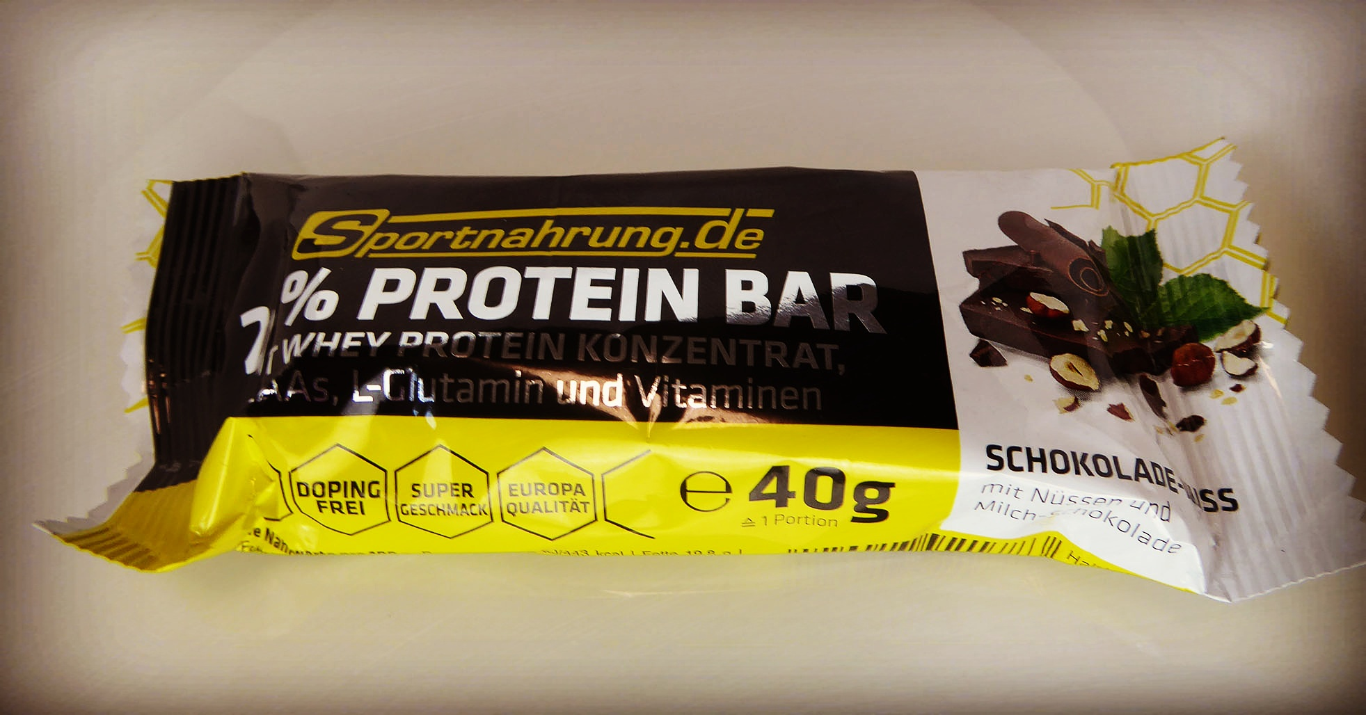 Sportnahrung Chocolate Nut Protein Bar