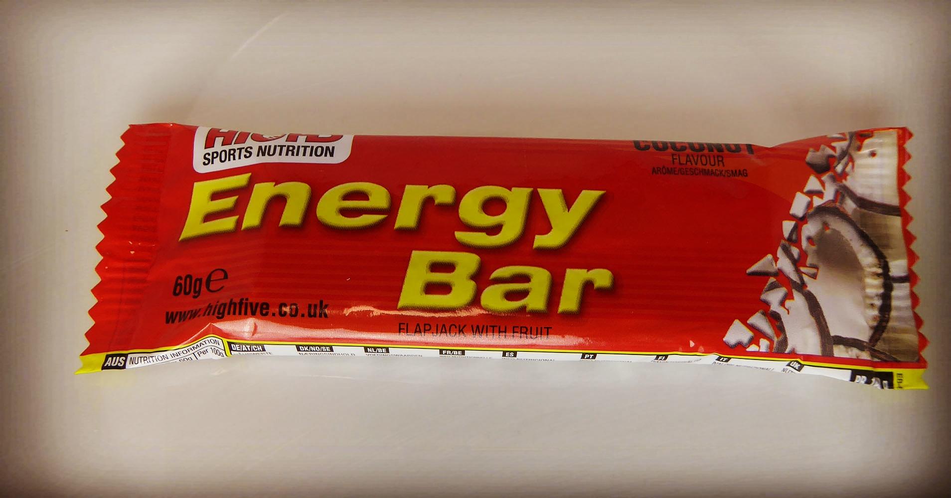 Highfive Dried Fruit Energy Bar Coconut