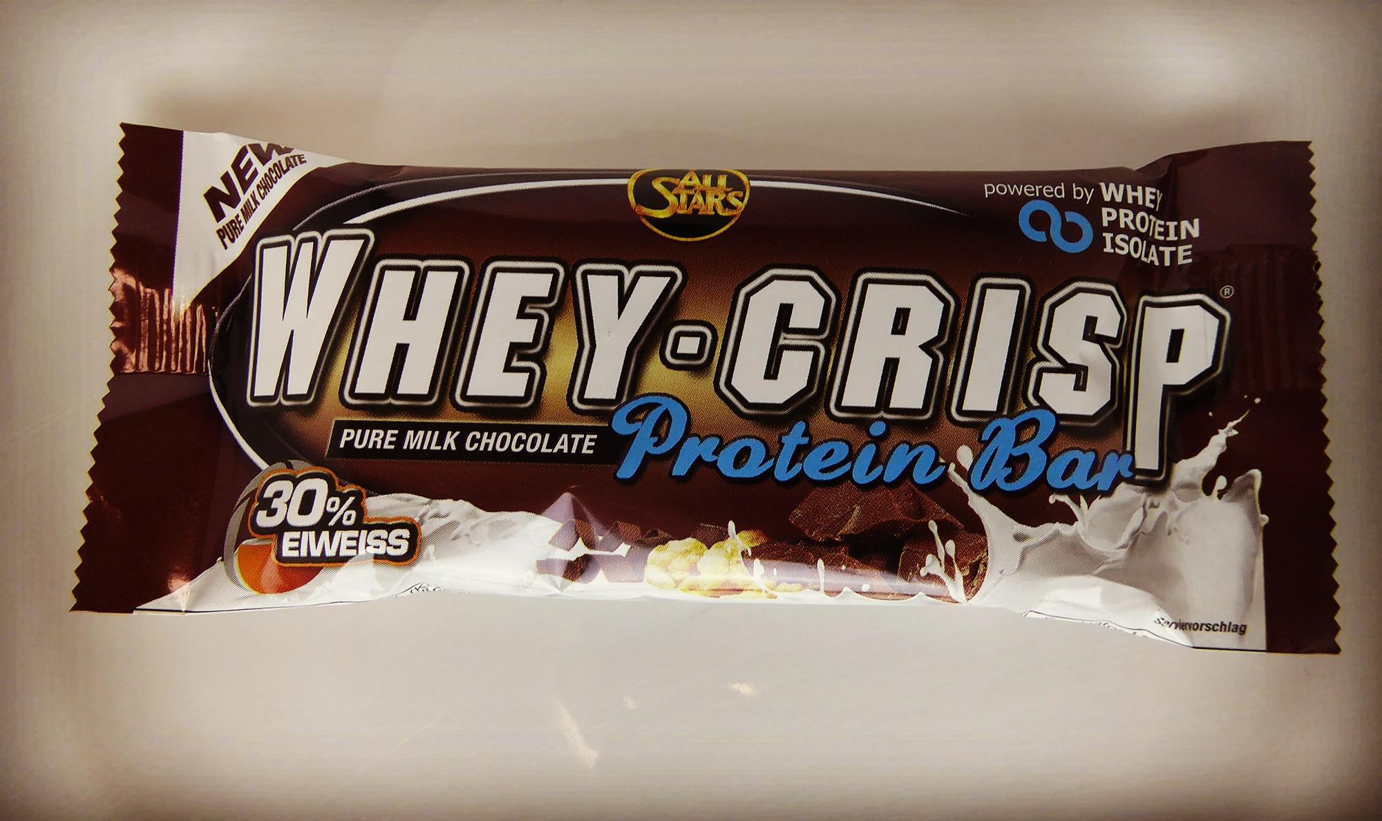 Whey Crisp Protein Bar Pure Milk Chocolate