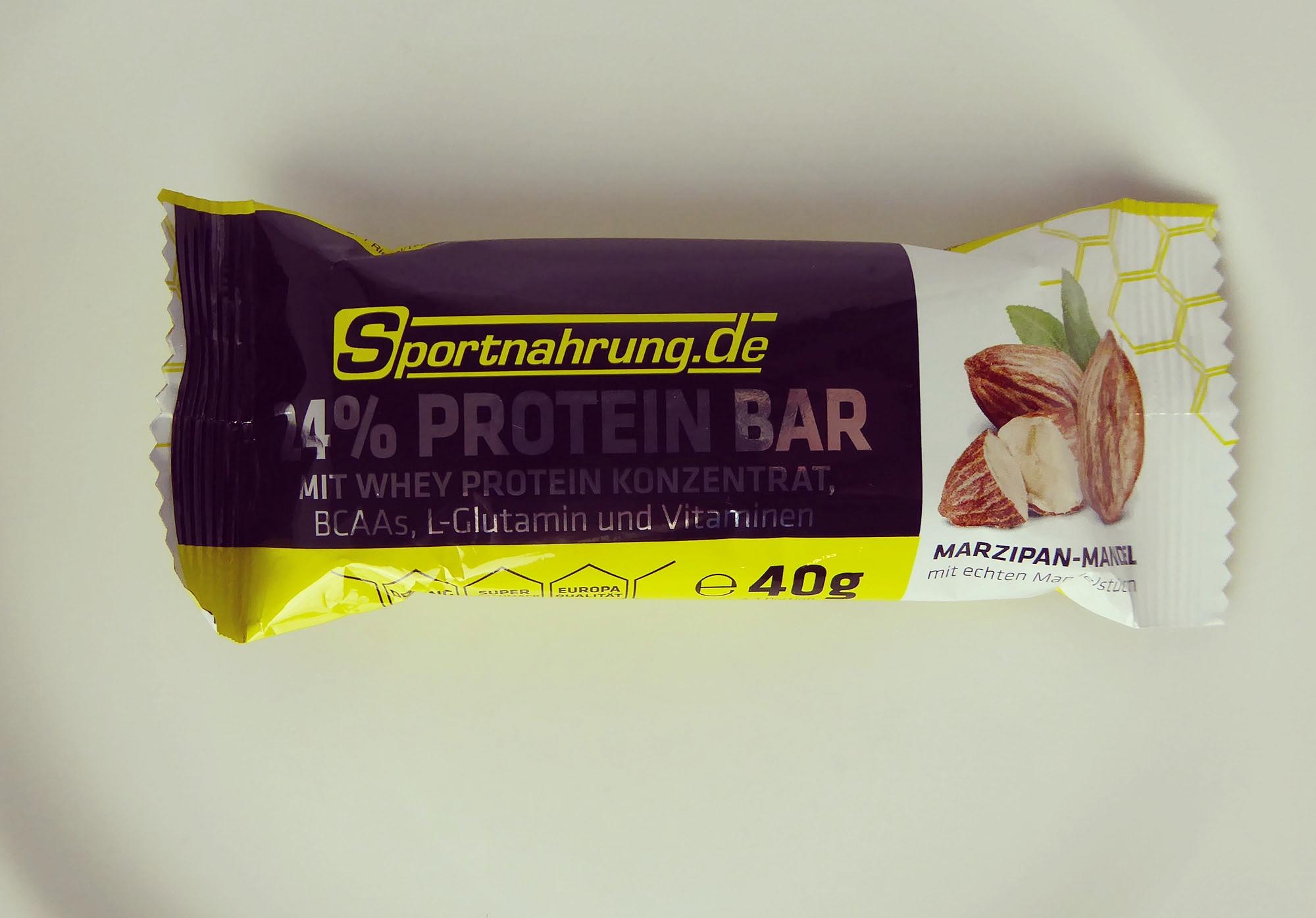 Sportnahrung Protein Bar Almond Marzipan