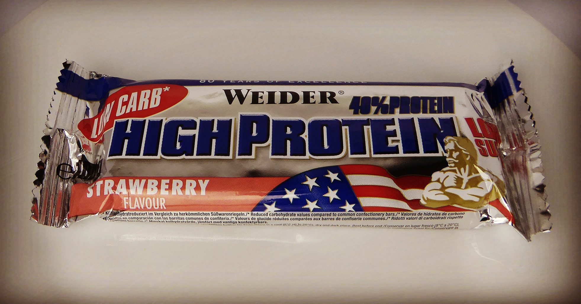 Weider High Protein Bar Strawberry
