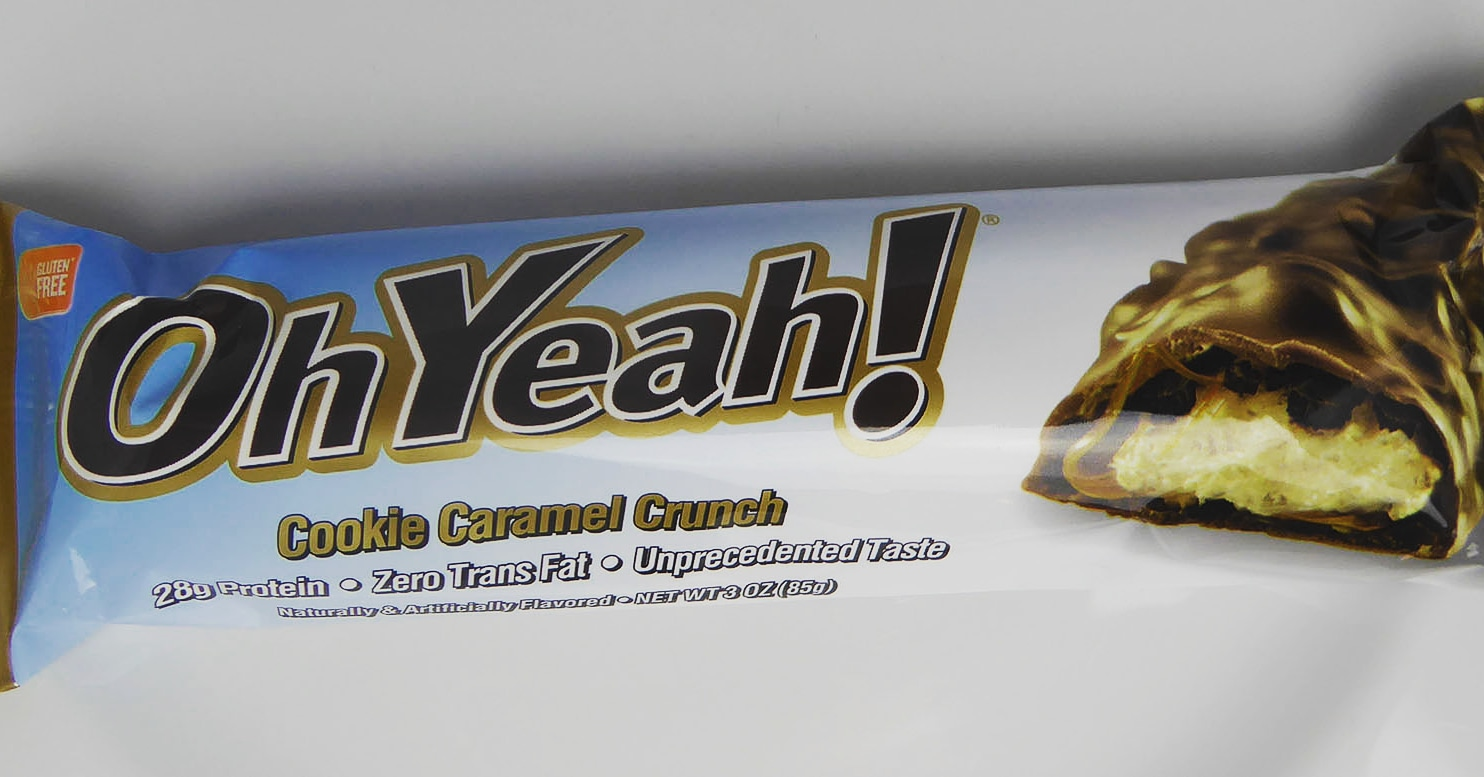 OhYeah! Cookie Caramel Crunch Protein Bar