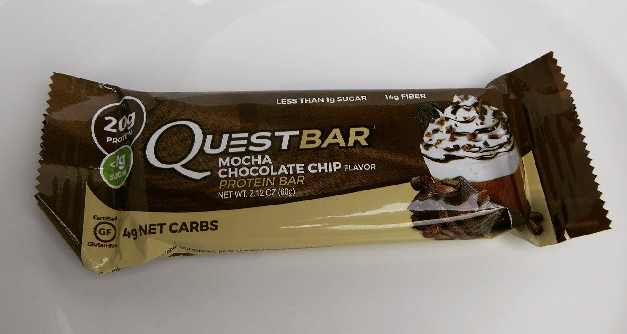 Questbar Mocha Chocolate Chip Protein Bar
