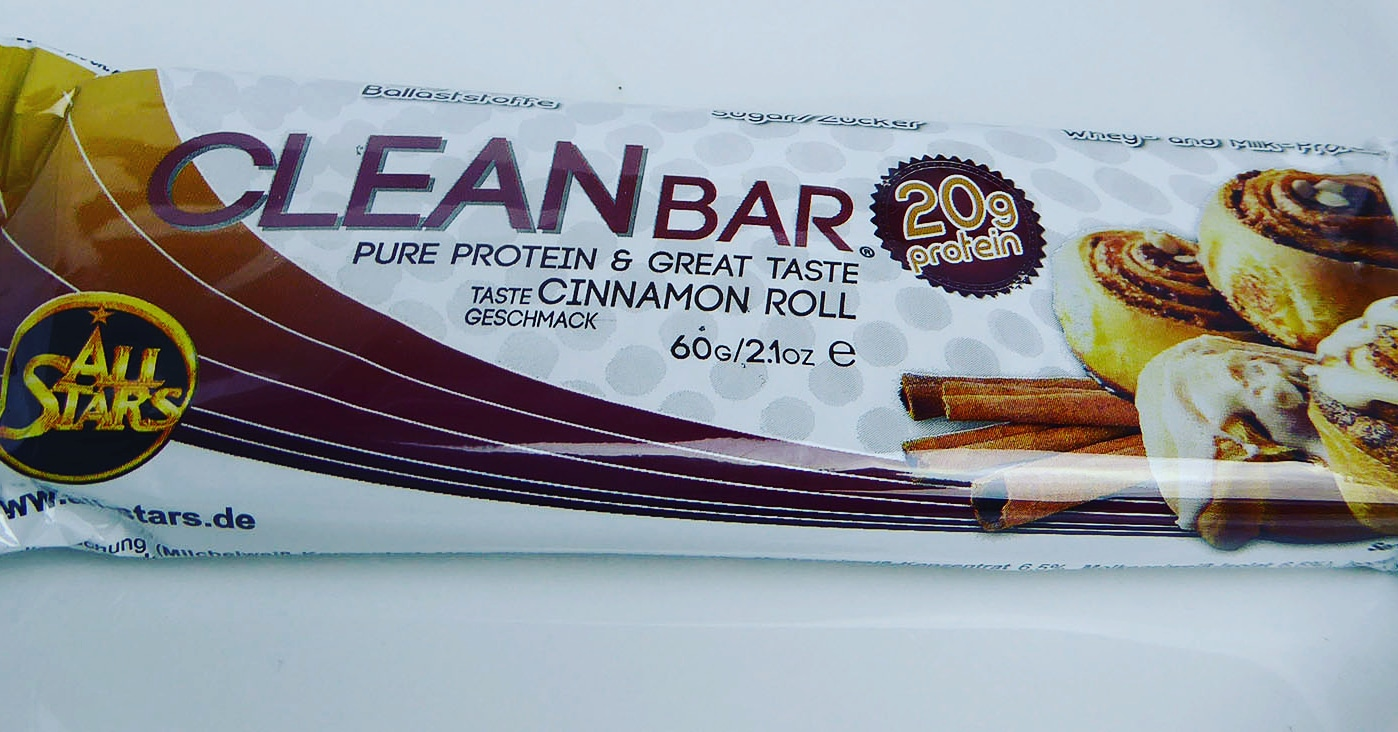 Cleanbar Protein Bar Cinnamon