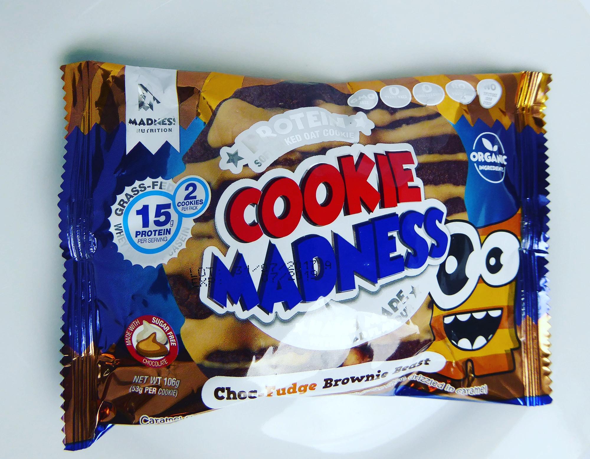 Cookie Madness Brownie Beast Protein Fudge Chocolate