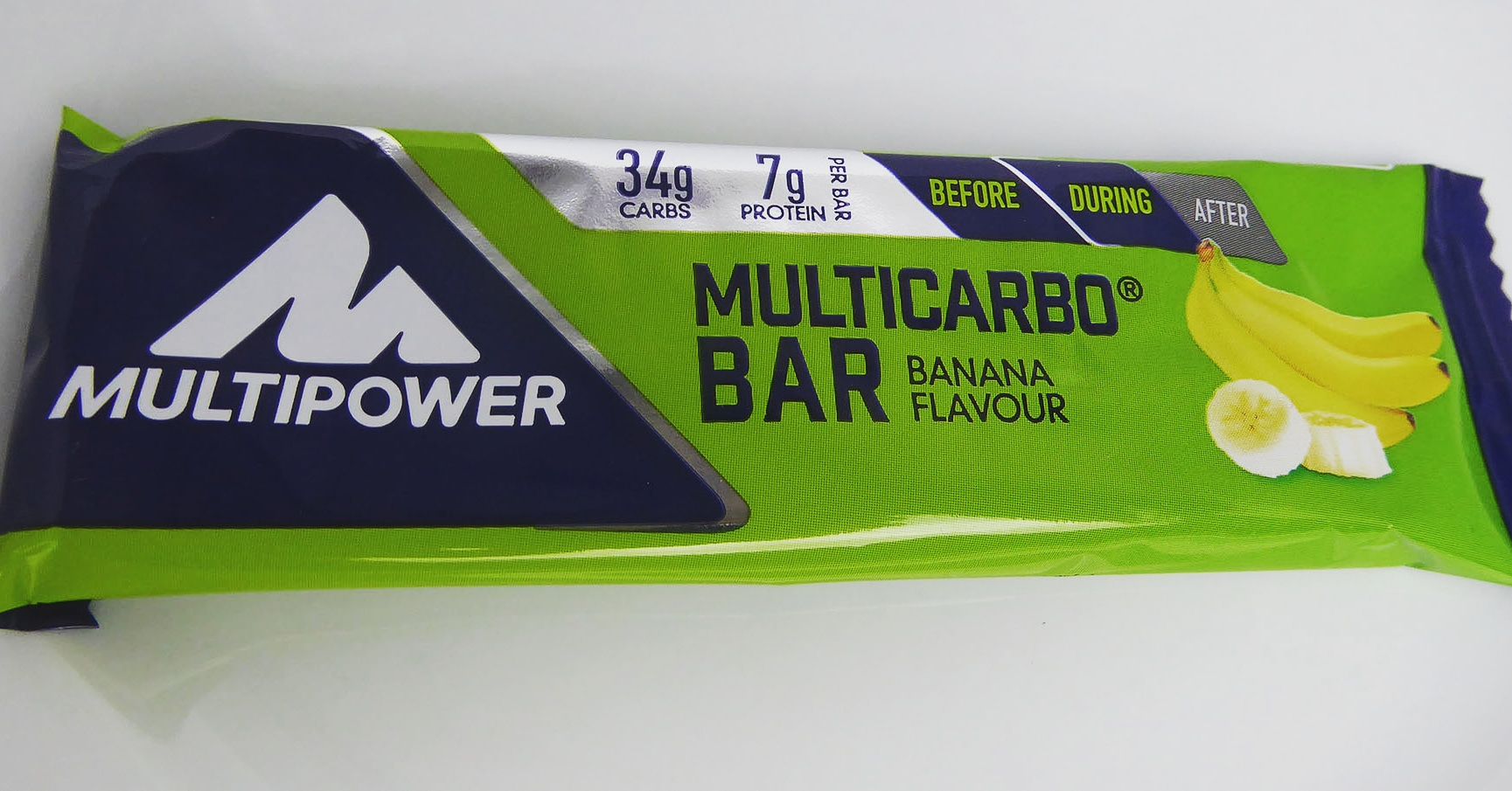 Multipower Multicarbo Protein Bar Banana Flavour