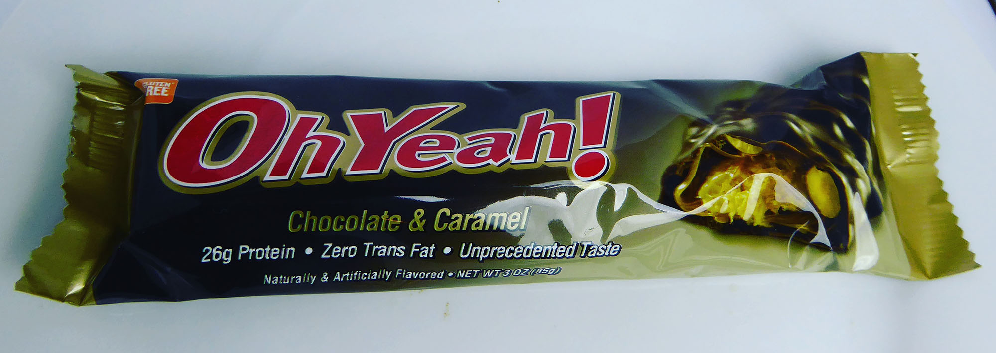 OhYeah! Protein Bar Chocolate Caramel
