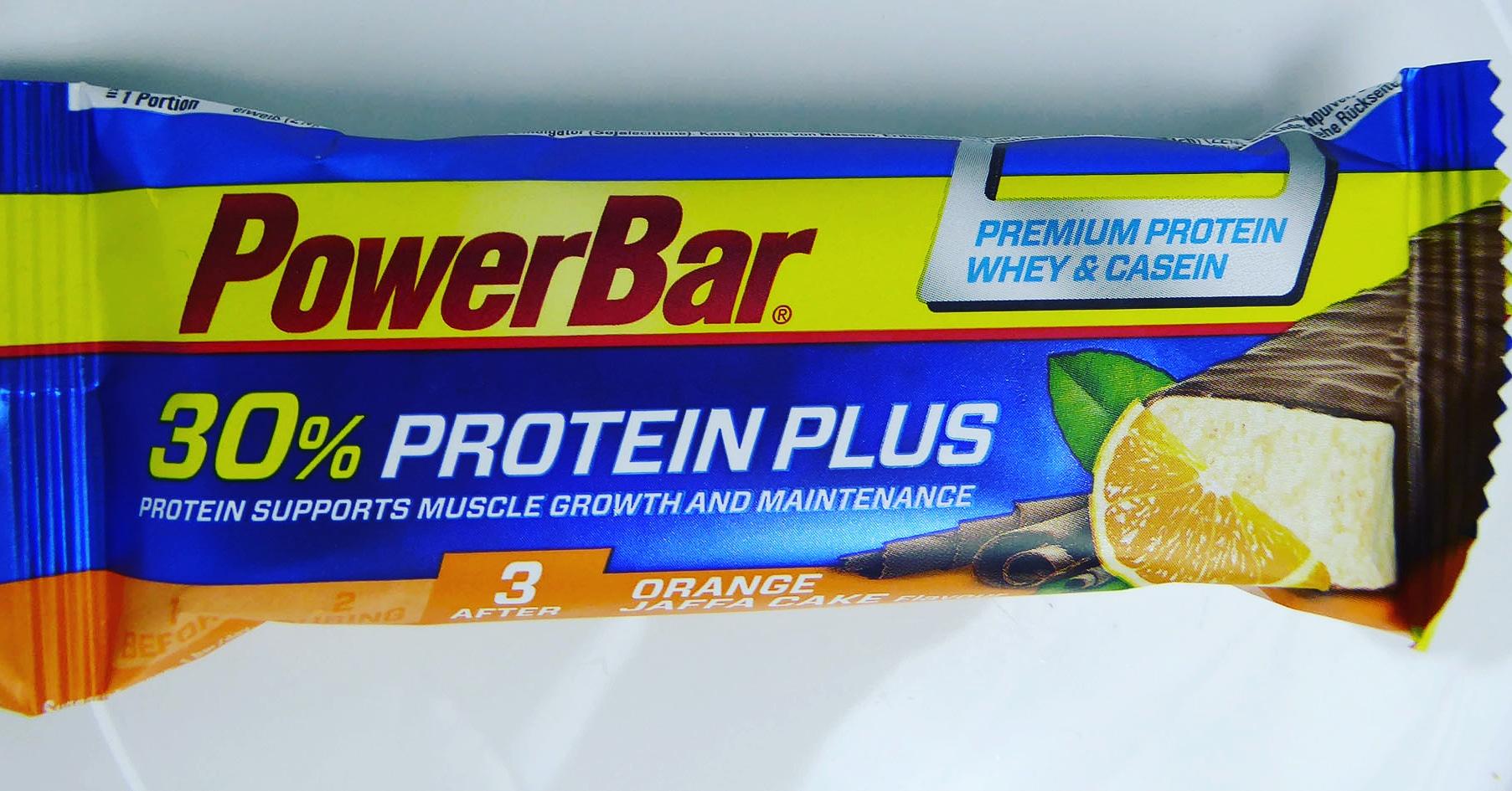 PowerBar Power Bar Jaffa Cake Orange Protein Bar Proteinbar Proteinriegel Eiweißriegel
